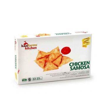 Kazi Farms Kitchen Chicken Samosa 250 gm - 13 - 9FROZEN