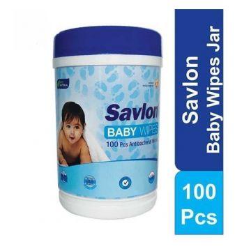 Savlon Baby Wipe Jar - 100 pcs