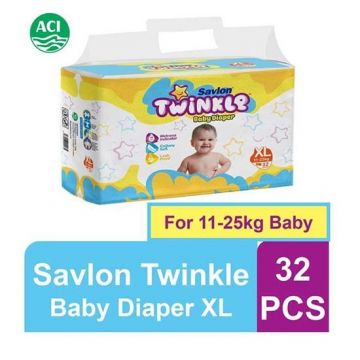 Twinkle Baby Diaper - Extra Large - 32 pcs