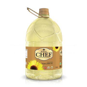 Royal Chef Sunflower Oil - 5 Ltr. (Oil 8 - 1AHOIL)