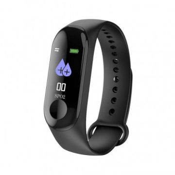 Band M3 Smart Fitness Tracker - Black