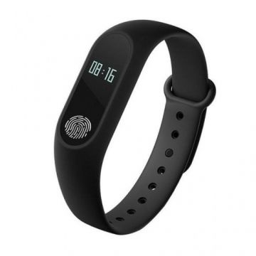 Bingo M2 Waterproof Smart Fitness Band - Black