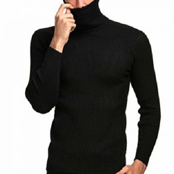 Black Wool Jumper
