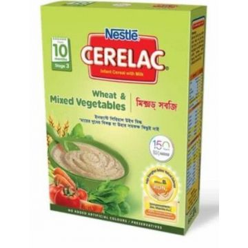 Nestlé Cerelac Wheat and Mixed Vegetables BIB - 400g