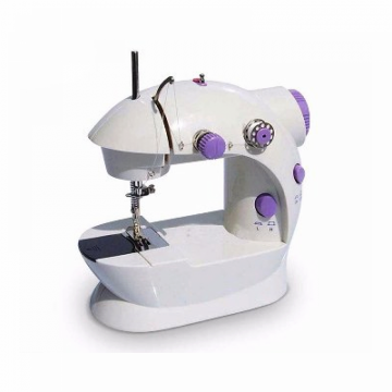 Mini Electric Sewing Machine - White & Grey