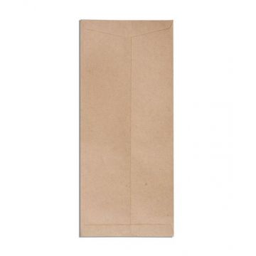 Envelope Brown 10 Inchx4.5 Inch, 60+ GSM  100 pcs