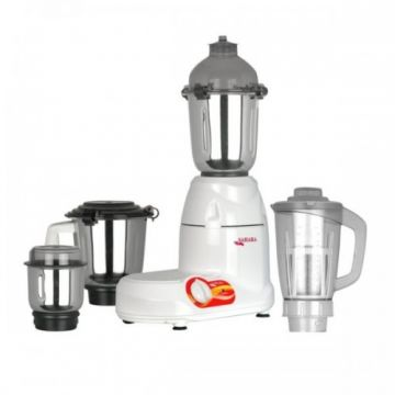 4 In 1 Grinder Blender - 750W - White and Silver