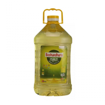 Bashundhara Fortified Soyabean Oil - 5L (Oil 1 - 1AHOIL)
