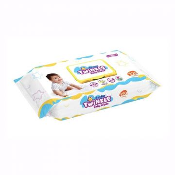 Twinkle Baby Wipes Pouch - 120 pcs