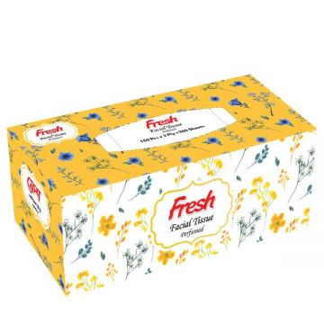 Fresh Perfumed Facial Tissue (150 X 2) Ply Box 1 pcs