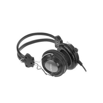 Hs-19 Comfort fit Stereo Headset - Black