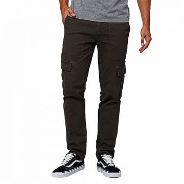 Deep Ash Twill Casual Gabardine Pant For Men
