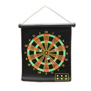 Magnetic Dartboard - Black