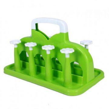 Plastic Glass Stand - Green