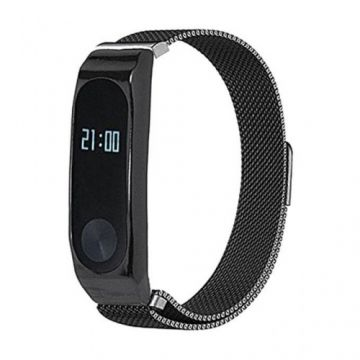 Mi Band 2 - Metal Wristband - Black