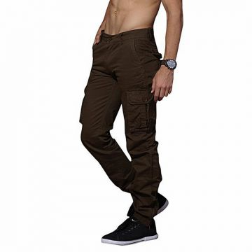chocolate twill casual gabardine pant