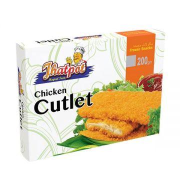 Jhatpot Chicken Cutlet 200gm 5500001248