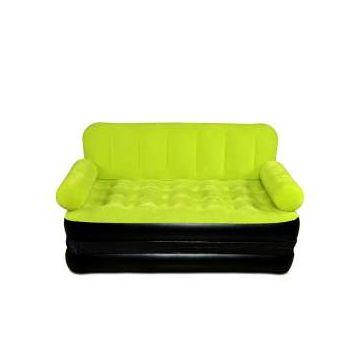 Royal Home Inflatable Sofa Bed  - Green