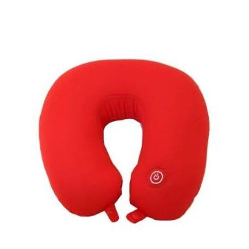 Neck Massage Pillow  - Red