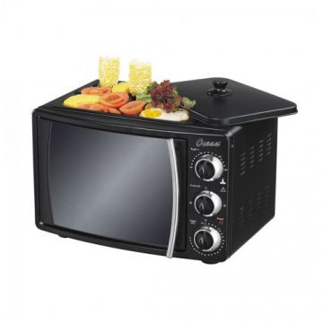 Oven Electric 22 Ltr. Black With Rotisserie - OEO2212B
