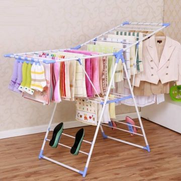Folding Stainless Steel Clothes Drying Rack