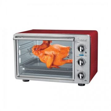 Electric Oven 21 Ltr. Red With Rotisserie - OEO2112R