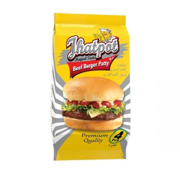 Jhatpot Beef Burger Patty 200gm 5500000548