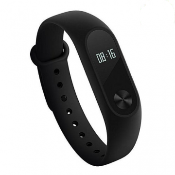 Mi Band 2 Fitness Band with Heart Rate Monitoring Function - Black