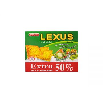 Olympic Lexus Biscuits Veg. Crackers 240g 5500000853