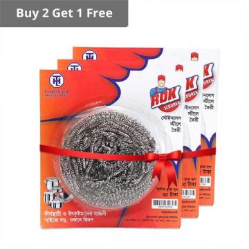 ROK MEGA STEEL SCOURER (Buy 2 Get 1 Free Offer)