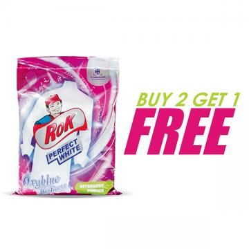 Rok Detergent Powder 500mg (Buy 2 Get 1 Free)