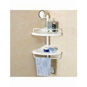 Master Kitchen Corner Shelf Bathroom Organizer Shelf Towel Holder