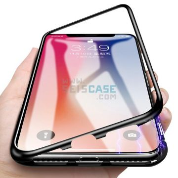 Magnetic Adsorption Ultra Slim Metal 360 Case for Samsung note 9