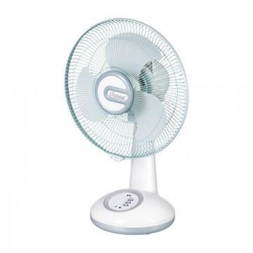 Fan Rechargeable Ac/Dc With Led Light-ORF7610