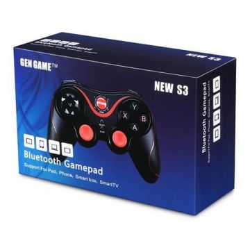 GEN GAME S3 Wireless Bluetooth 3.0 Gamepad Gaming Controller for Android Smartphone - BLACK