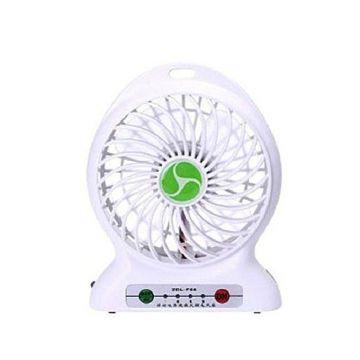 Master Kitchen Rechargeable Mini Fan – White