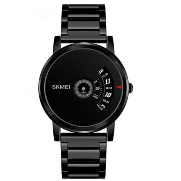 SKMEI Analog Dial Men's Watch-1260 Black