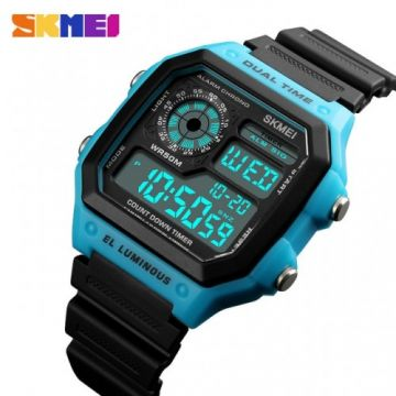 SKMEI 1299 Watches Men Luxury Brand LED Digital Wrist Watch