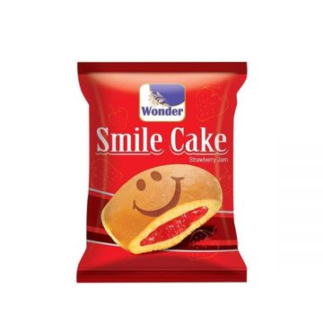 PRAN Wonder Smile Cake Strawberry 35gm 5500001072