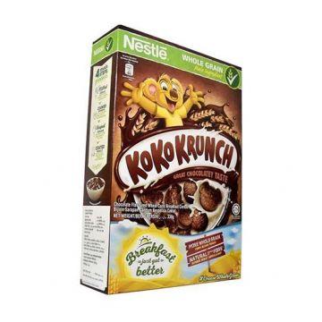 Nestlé KOKO KRUNCH Breakfast Chocolate Cereal Box - 330 gm
