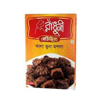 Radhuni Kala Bhuna Masala - 80gm