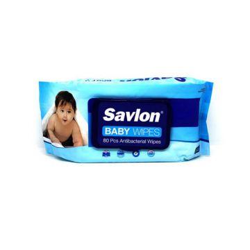 ACI Savlon Baby Wipes (AntiBacterial) - 80 pcs