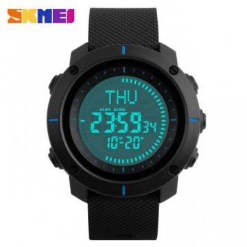 SKMEI 1216 Sports Watches Men Multiple Digital Time Compass Watch 3 Alarm 50M Waterproof Wristwatches