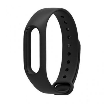 Silicon Strap MI Band 2 - Black