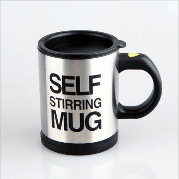 Master Kitchen Self Stirring Mug - Black