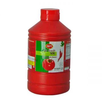 Pran Hot Tomato Sauce -1000gm Plastic Jar