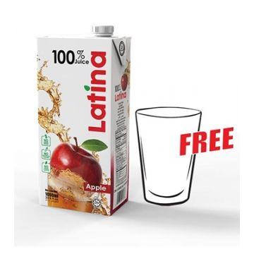 PRAN Latina Apple Juice 1000ml 3000000223