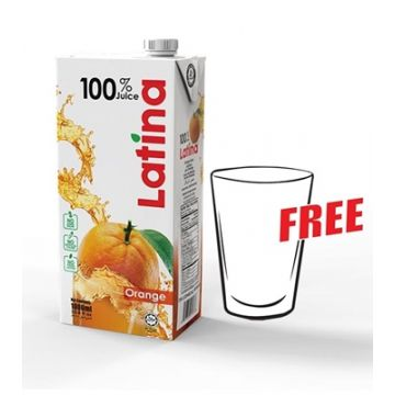 PRAN Latina Orange Juice 1000ml 3000000224