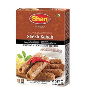 Shan Seekh Kabab Masala Mix - 50gm