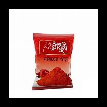 Radhuni Hathazari Chili Powder - 100 gm